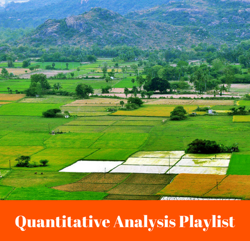 Quantitative Analysis Playlist