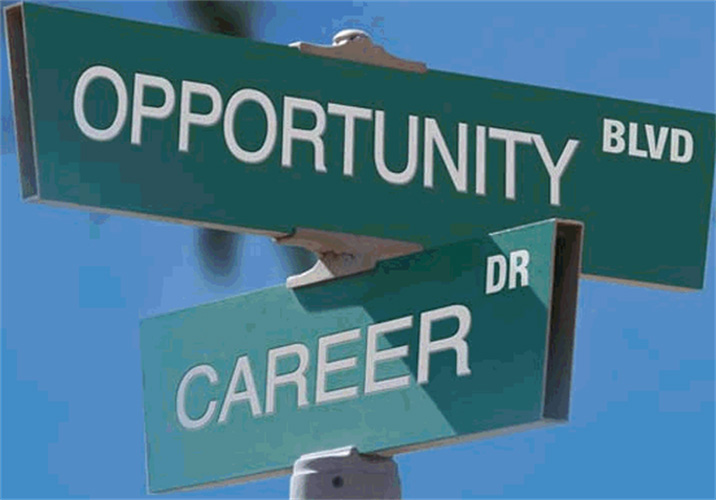 Opportunity Blvd meets Career Dr